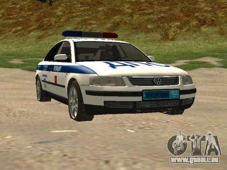 Volkswagen Passat ДПС für GTA San Andreas