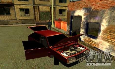 2109 pour GTA San Andreas roue