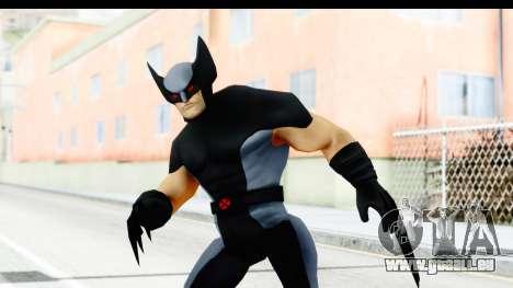 Marvel Heroes - Wolverine Xforce für GTA San Andreas