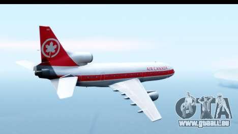 Lockheed L-1011-100 TriStar Air Canada pour GTA San Andreas vue de droite