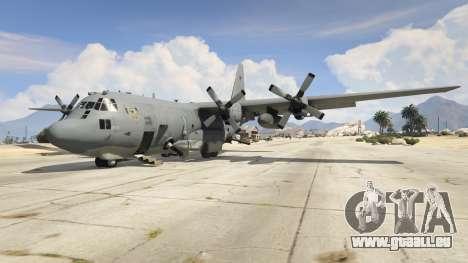 AC-130U Spooky II Gunship pour GTA 5
