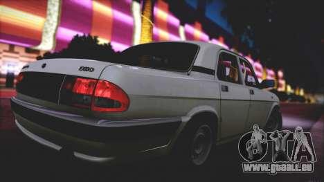 GAZ 3110 Abfluss Qualität für GTA San Andreas Seitenansicht