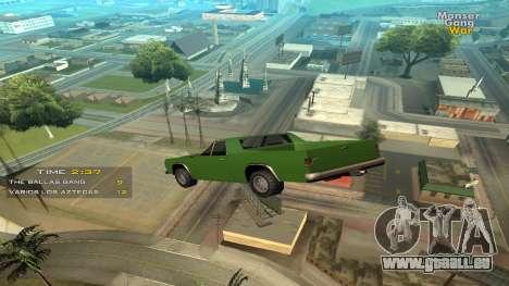 Cleo Jump Car pour GTA San Andreas
