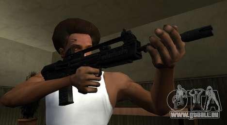 VHS 2 PayDay 2 pour GTA San Andreas troisième écran