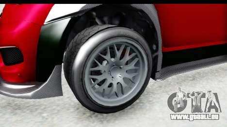 GTA 5 Grotti Brioso RA pour GTA San Andreas vue arrière