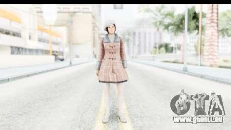 DoA 5 - Mila Casual für GTA San Andreas zweiten Screenshot