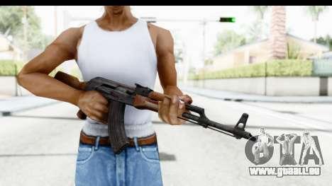 AKM 7.62 pour GTA San Andreas troisième écran