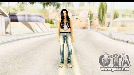 Gangsta Girl pour GTA San Andreas deuxième écran
