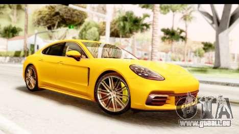 Porsche Panamera 4S 2017 v3 für GTA San Andreas