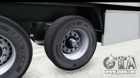 Trailer ETS2 v2 Old Skin 3 pour GTA San Andreas vue arrière