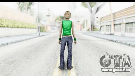 Silent Hill 3 - Heather Sporty Green Get A Life für GTA San Andreas dritten Screenshot