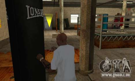 LonsDale Boxsack für GTA San Andreas fünften Screenshot