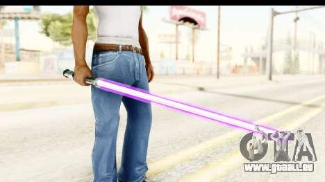 Sword Art Online II - Kiritos Saber für GTA San Andreas