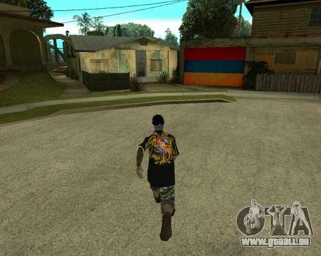 New Armenian Skin pour GTA San Andreas quatrième écran