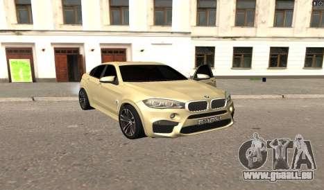 BMW X6M Bulkin pour GTA San Andreas