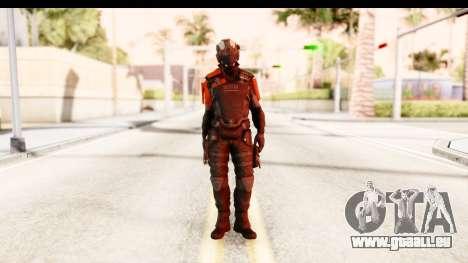 Homefront The Revolution - KPA v2 Black für GTA San Andreas zweiten Screenshot