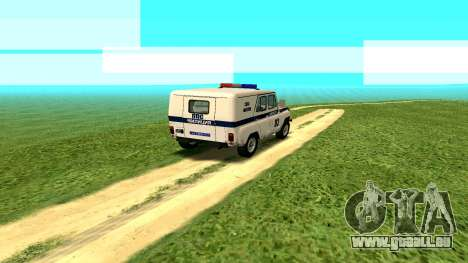 Les effets Standard sans poussière pour GTA San Andreas troisième écran