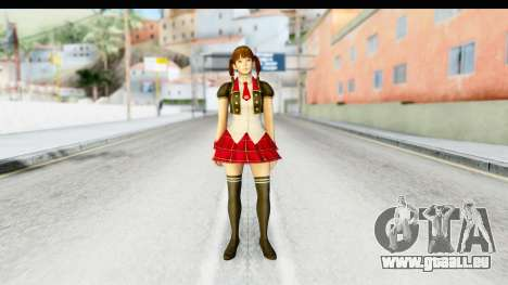 DoA 5 - Lei Fang Pop Idol für GTA San Andreas zweiten Screenshot
