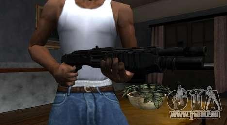 SPAS-12 Black Mesa pour GTA San Andreas deuxième écran
