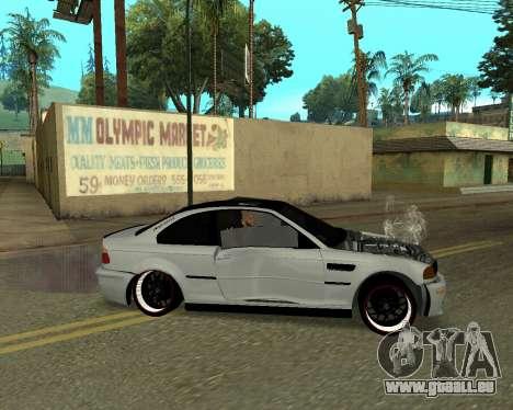 BMW M3 Armenian pour GTA San Andreas