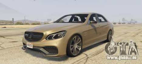 Mercedes-Benz E63 Brabus 850HP für GTA 5