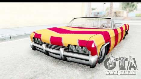 Blade New PJ pour GTA San Andreas sur la vue arrière gauche