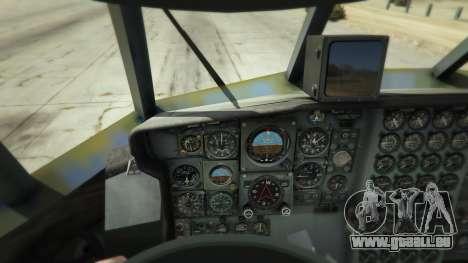 GTA 5 AC-130U Spooky II Gunship cinquième capture d'écran