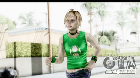 Silent Hill 3 - Heather Sporty Green Get A Life für GTA San Andreas