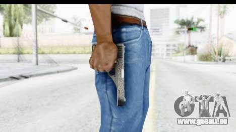 GTA 5 Vintage Pistol pour GTA San Andreas troisième écran