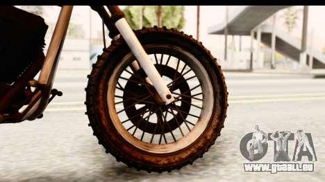 GTA 5 Western Cliffhanger Custom v2 IVF pour GTA San Andreas vue arrière