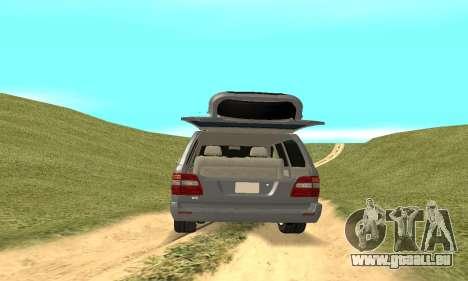Toyota Land Cruiser 100 pour GTA San Andreas vue intérieure