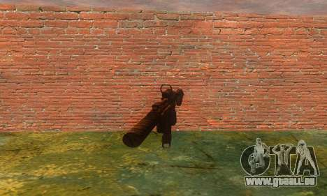 Noveske Diplomat 7.5 pour GTA San Andreas deuxième écran