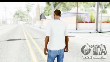 Nike Just Do It T-Shirt für GTA San Andreas dritten Screenshot