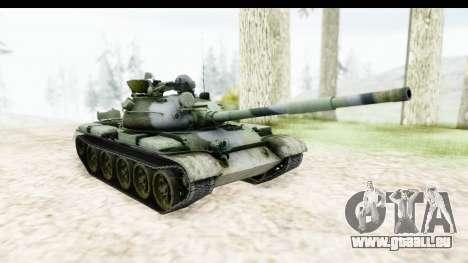 T-62 Wood Camo v2 pour GTA San Andreas vue de droite