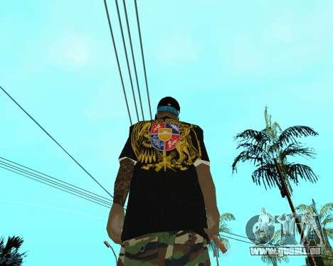 New Armenian Skin pour GTA San Andreas cinquième écran