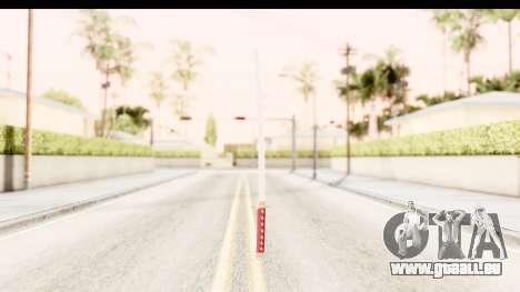Bleach - Rukia Weapon pour GTA San Andreas troisième écran
