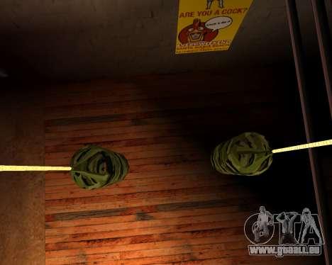 Neue militärische Boxsack für GTA San Andreas her Screenshot