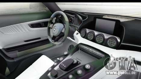 Mercedes-Benz AMG GT Prior Design für GTA San Andreas Innenansicht