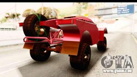 GTA 5 Desert Raid IVF für GTA San Andreas rechten Ansicht