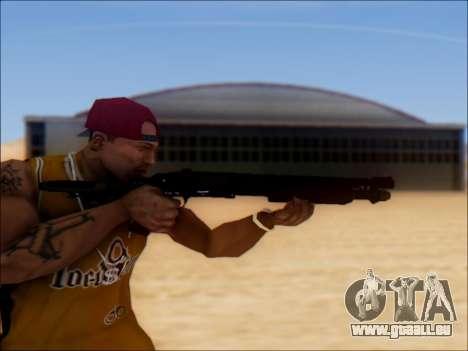 GTA V Shrewsbury Pump Shotgun für GTA San Andreas dritten Screenshot