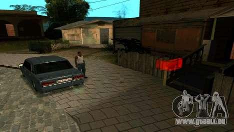 Nouveau jeton pour GTA San Andreas deuxième écran