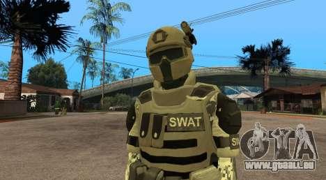 Elite GENSEC PAYDAY 2 SWAT Unit pour GTA San Andreas