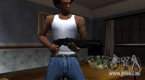 SPAS-12 Black Mesa pour GTA San Andreas troisième écran