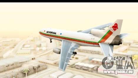 Lockheed L-1011-100 TriStar TAP Portugal pour GTA San Andreas vue de droite