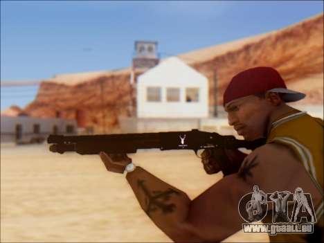 GTA V Shrewsbury Pump Shotgun pour GTA San Andreas quatrième écran