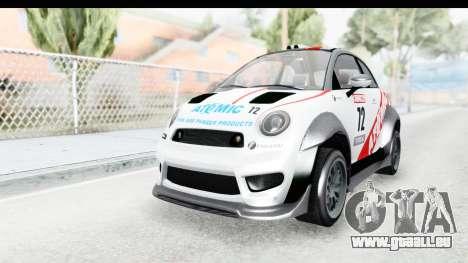 GTA 5 Grotti Brioso RA für GTA San Andreas Innenansicht