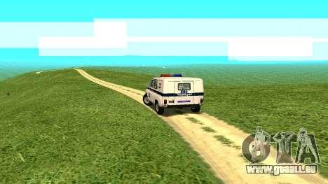 Les effets Standard sans poussière pour GTA San Andreas
