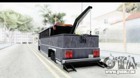 Towbus für GTA San Andreas linke Ansicht