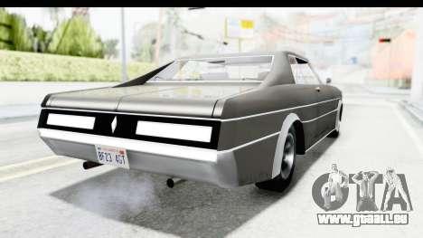 Imponte Tempest 1966 pour GTA San Andreas laissé vue