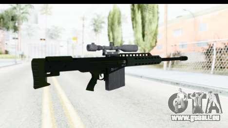 GTA 5 Vom Feuer Heavy Sniper pour GTA San Andreas deuxième écran